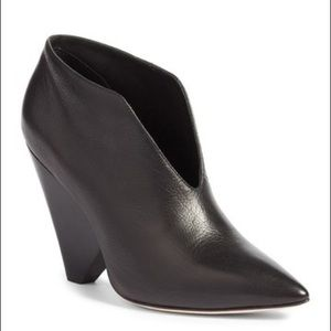 Paige Leather High Heel Emi Bootie